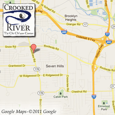 Crooked River Tai Chi Chuan Map